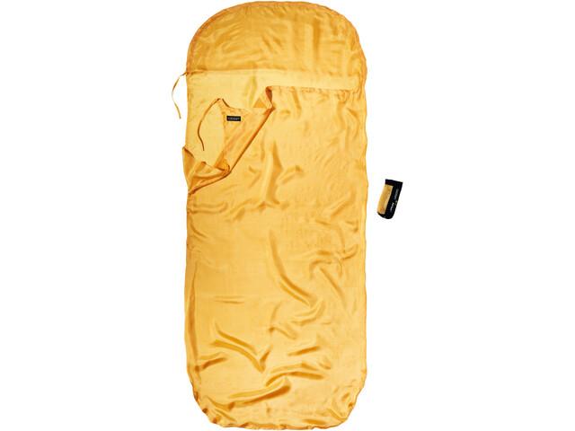 Cocoon KidSack Betræk Silke Børn, gul